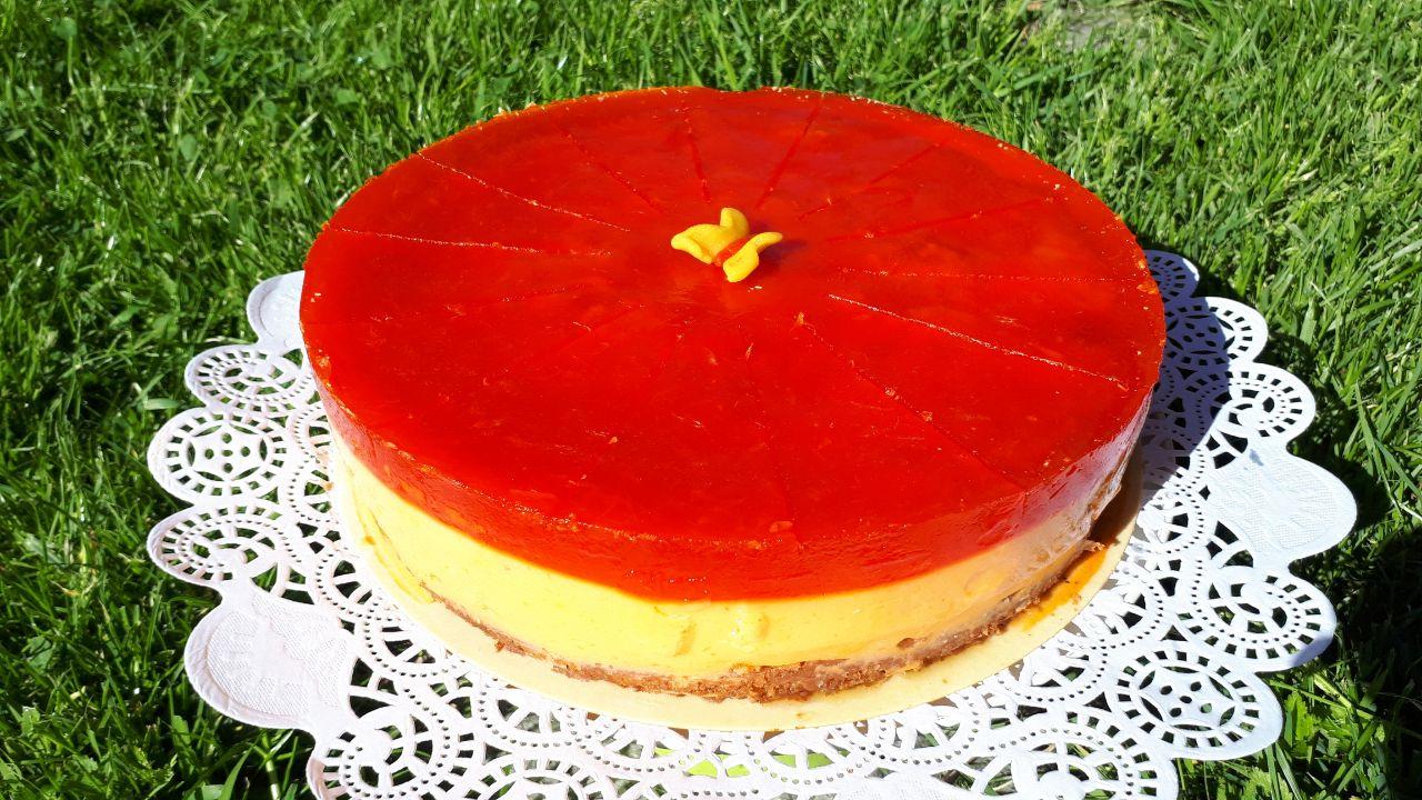 Orangencreme-Kokos Torte