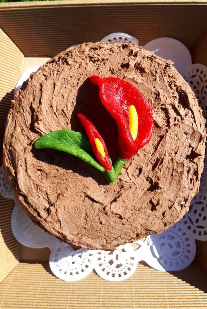 Schokoladentorte mit Mousse au Chocolate